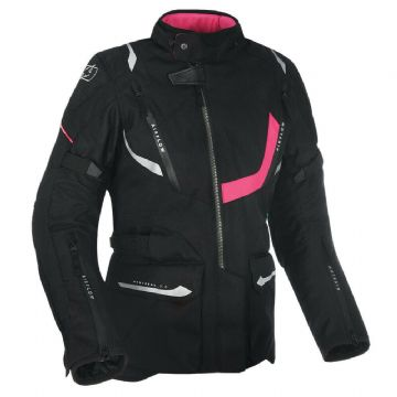 Oxford Montreal 3.0 Women's Waterproof Motorcycle Motorbike Jacket Tech Black